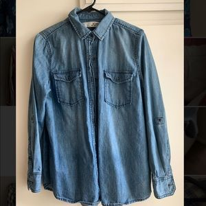 Denim Chambray Button Down